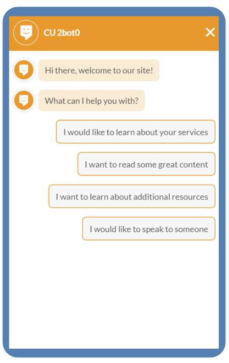credit union chat bot